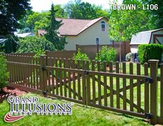 Illusions Vinyl Fence's Grand Illusions Color Spectrum Landscape Series Brown (L106) was featured on the front cover of the Home and Garden section of the Southern Dutchess News, Northern Dutchess News, and Beacon Free Press. The article also features Adams Fences. See article below: The team of Adams Fences and Illusions Vinyl Fence is winning...Read More
