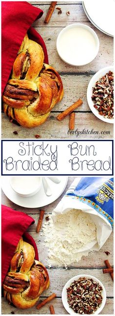 Sticky Bun Braided Bread is guaranteed to satisfy any sweet tooth. @ImmaculateBakes  #ad Get a $1 OFF COUPON HERE: https://ooh.li/6ab9506 via @berlyskitchen