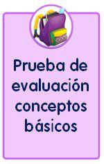 Prueba para evaluar los conceptos básicos en Educación Infantil
