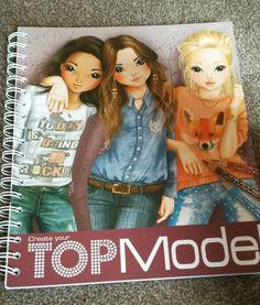 top model colouring book CREATIVE STUDIO