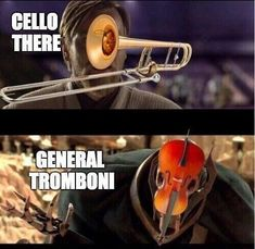 meme making the exchange between Obi Wan and Grievous about musical instruments .- meme making the exchange between Obi Wan and Grievous about musical instruments funny captions funny humor funny memes animal funny Obi Wan, Memes Humor, Humor Quotes, Citations Star Wars, Geek House, Funny Puns, Funny Humor, Puns Jokes, Funny Quotes