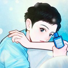 Chanyeol W korea italian perfume photoshoot Kpop Exo, Park Chanyeol, Baekhyun, W Korea, Exo Fan Art, Shinee, All Art, Chibi, Disney Characters
