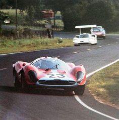 Ferrari 412p Lemans 67