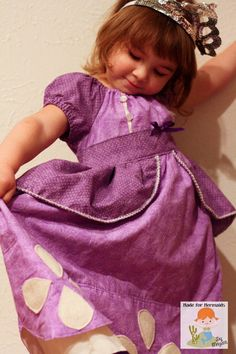 Sofia the First dress Disney Princess by madeformermaids on Etsy, $75.00