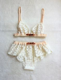 The Mint Lingerie Set  MADE TO ORDER