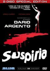 Suspiria (1977)  Release Date  12 Aug 1977  Genre  Horror  Run time  1 h 32 min  Rated  R  Plot Summary  A newcomer to a fancy ballet academy gradually comes to realize that the school is a front for something far more sinister and supernatural amidst a series of grisly murders.