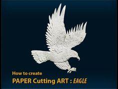 PAPER CUTTING ART: EAGLE