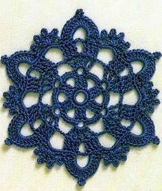 Tecendo Artes em Crochet: Motivos, Flores, Estrelas...tudo com Gráficos!