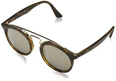 Amazon.com  Ray-Ban Injected Unisex Sunglasses - Black Frame Dark Green  Lenses 46mm Non-Polarized  Ray-Ban  Clothing 7baef09dc52