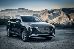 Design Mazda is designed in the traditional style of the Japanese brand. The car has a wide grille and narrow headlights, like the crossover Mazda . Mazda Cx 9, Best Crossover, Crossover Suv, Honda Pilot, Car Buyer, Car Images, Fuel Economy, Dream Cars, Automobile