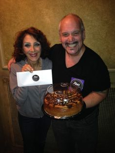 The best cheesecake meets the Best Featured Actress of 2013 Tony Award winner, Andrea Martin.