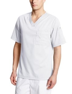 4caa2500675 Grey's Anatomy Men's 3 V-Neck Scrub Top | Medical Scrubs Greys Anatomy Men,