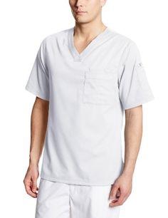 8079a6a03e7 Grey's Anatomy Men's 3 V-Neck Scrub Top | Medical Scrubs Greys Anatomy Men,