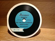 Schallplatten Karte, Musik Karte, Single Karte, Retro Karte, Music Card, Stampin'Up, SU