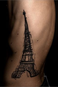 Eiffel Tower Tattoo.  Wish I could!