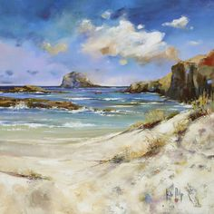 Bass Rock - Limited Edition Giclee Art Print by Kate Philp