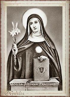 Santa María, Madre de Dios y Madre nuestra: 19 de junio   SANTA JULIANA DE FALCONIERI