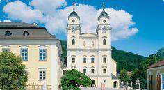 Sound of Music Wedding Church in Mondsee : Lake Mondsee Region - austria