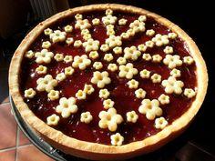 Crostata con marmellata di fragole (frolla di L. Montersino)