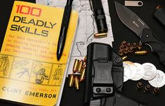 100 Deadly Skills - Lifesaving Tips for Preppers - The Prepper Journal Survival Gadgets, Survival Books, Spy Gadgets, Survival Prepping, Emergency Preparedness, Survival Skills, Survival Stuff, Doomsday Prepping, Home Protection