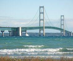 Mackinaw Bridge, Michigan   Most beautiful place in the US