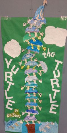 Yertle the Turtle | Dr. Seuss Door Decorations | Pinterest ...