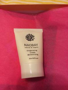 (x2) Naobay Oxygenating Cream Moisturizer 20 ml Retail Value $14