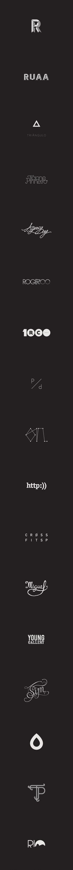 Logos by Pedro Paulino, via Behance
