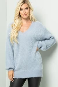 Super Soft and Fuzzy Sweater – Ranch and Famous