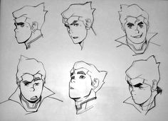 Bolin concept art (Legend of Korra, San Diego Comic Con, 2011)