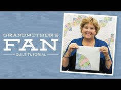 Make a Grandmother's Fan Quilt with Jenny! | Missouri Star Quilt Company - YouTube | Bloglovin'