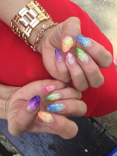 "Nails art ""Sparkle"""