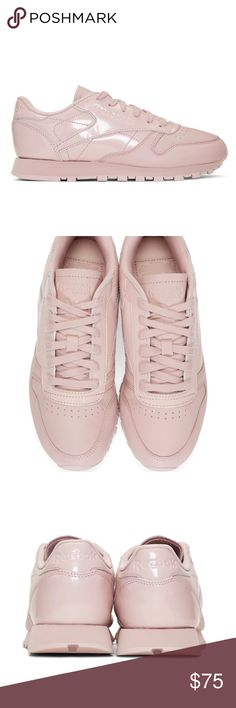 reebok pale pink sneakers unique pink pair bought for someone but they did not like it. Reebok Shoes Sneakers