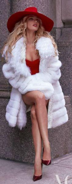 Fall/Winter Fur Coats Ideas