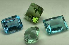 Green Beryl (G3916) from the National Gem Collection