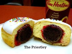 Twitter / TimHortons: .  .@Jason_Priestley, we loved the idea of 'The Priestley' so much, we made a batch. A Timbit IN a donut? Genius.