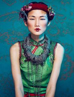 photo de mode : Kha My Van, femme asiatique