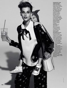 giedre dukauskaite by mark pillai for elle italia april 2013 | visual optimism; fashion editorials, shows, campaigns & more!