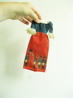 Barbie soldier dress. I have this still!