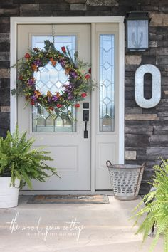 Summer Front Porch by The Wood Grain Cottage