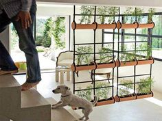 Dos ideas para separar ambientes - http://decoracion2.com/dos-ideas-para-separar-ambientes/63412/ #DividirEspacios, #SepararAmbientes