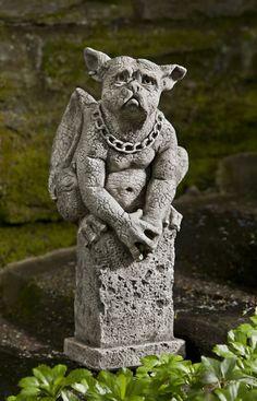 Merveilleux Oswald Gargoyle Garden Statuary Gothic Gargoyles, Garden Statues, Garden  Fountains, Gothic Garden,