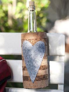 (Quelle: Privat, Martina Lammel) Flaschenhalter für Wanderer