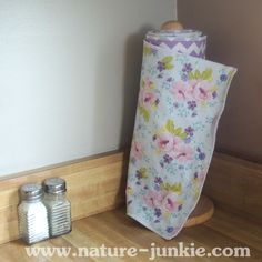 Elegant garden unpaper towels