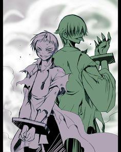 Uzume and Choza (Itsuwaribito Utsuho)