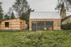 Image 1 of 32 from gallery of Garden Buildings Warmington / Ashworth Parkes Architects. Photograph by Justin Paget Photography