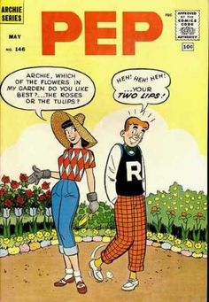 A cover gallery for the comic book Pep Comics Archie Comics Characters, Archie Comic Books, Vintage Comic Books, Vintage Comics, Comic Books Art, Jughead Comics, Archie Betty And Veronica, Archie Comics Riverdale, Comic Party