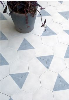 Love these Moroccan cement tiles by Claesson Koivisto Rune