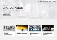 Monograph | CSS Website