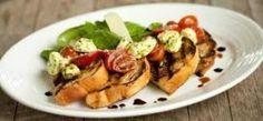 Knoflook bruschetta met verse basilicum en mozzarella | Recepten | Lekker Tafelen | Online FoodMagazine